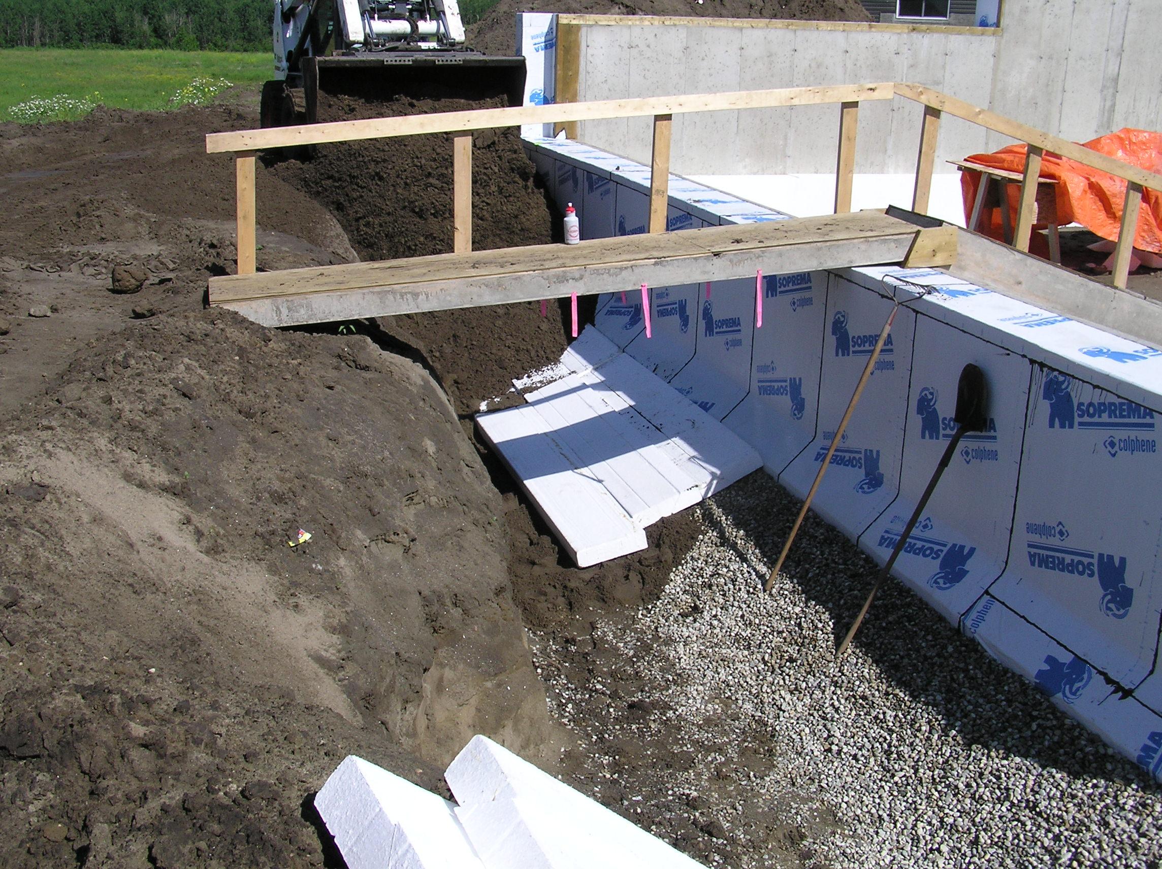 Foundation Drainage And Plumbing 171 Cottonwood Passive House